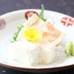 ゆばのお造り二種盛Sashimi Yuba