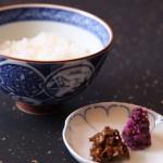 ご飯 竹ゆば佃煮Rice, Yuba Koucha Shigure