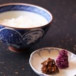ご飯 ゆばの紅茶時雨Rice, Yuba Koucha Shigure & Shibazuke Picles
